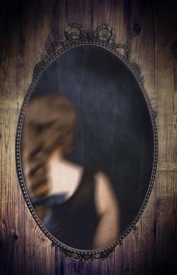 Ornate Mirror Poster