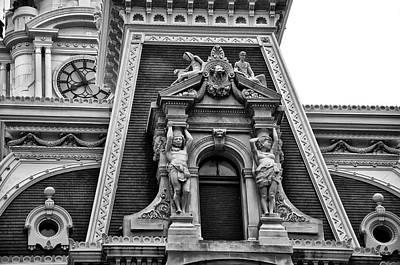 Ornate Window - Philadelphia City Hall Poster