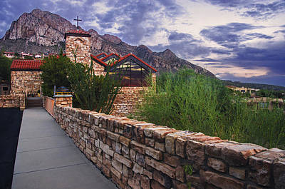 Oro Valley United Church Of Christ Poster by Dave Dilli