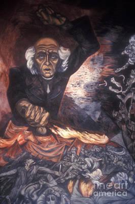 Orozco Mural Guadalajara Poster