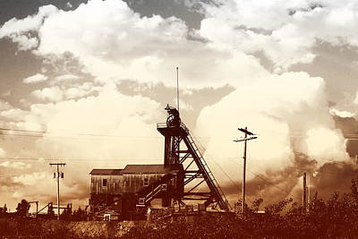 Poster featuring the photograph Orphan Girl Mine  by Kevin Bone