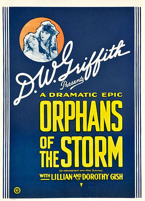 Orphans Of The Storm, From Left Dorothy Poster by Everett
