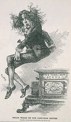 Oscar Wilde Poster by British Library