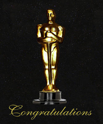 Oscars Congratulations Poster by Eric Kempson