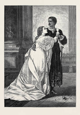 Othello And Desdemona Poster