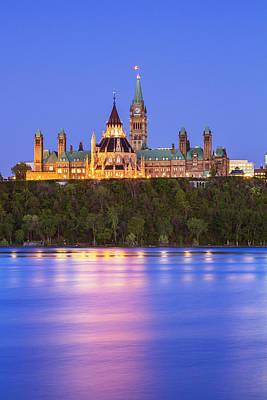Ottawa Blue Hour Poster