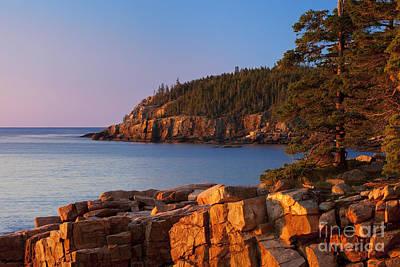 Otter Cliffs Maine Poster