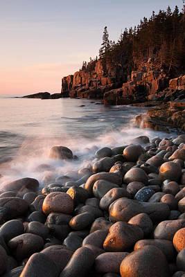 Otter Cliffs Poster