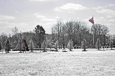 Our Flag Was Still There Poster by Tom Gari Gallery-Three-Photography