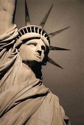 Our Lady Liberty Poster by Dyle   Warren
