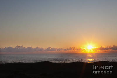 Outer Banks Sunrise Poster by Kay Pickens