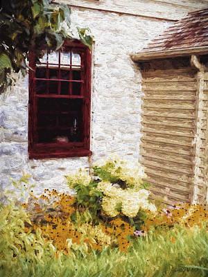 Outside The Window Poster by Jo-Anne Gazo-McKim