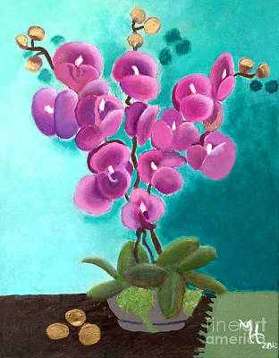 Outstanding Orchids Poster