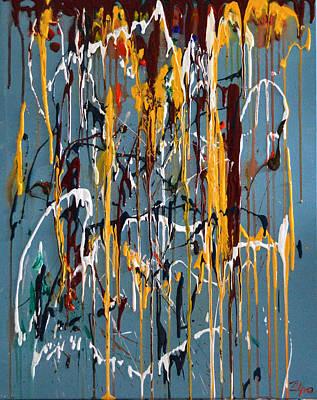 Overflow  Poster by Zilpa Van der Gragt