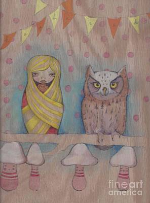 Owl Party Poster