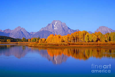 Oxbow Bend In Grand Teton Poster