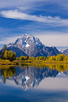 Oxbow Bend Poster by Mark Kiver