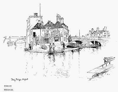 Oxford Folly Bridge Poster by Granger
