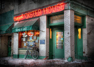 Oyster House Poster by Lori Deiter