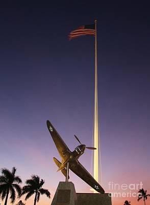 P-40 Warhawk Memorial Poster