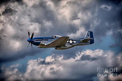 P-51 Mustang Poster by Carsten Reisinger