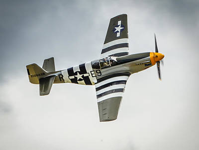 P 51 Mustang Fighter Plane  Poster