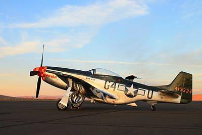P-51 Mustang Poster by Saya Studios