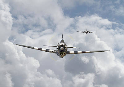 P47 D - Thunderbolt Poster by Pat Speirs
