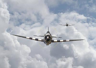 P47 D - Thunderbolt Poster