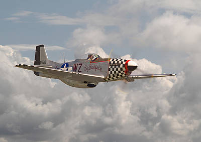 P51 - 'doll' Poster by Pat Speirs