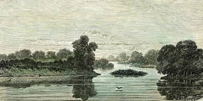 Pachitea River 1869 Peru Poster