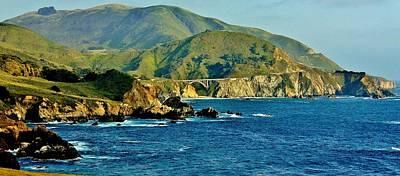 Pacific Coast Panorama Poster