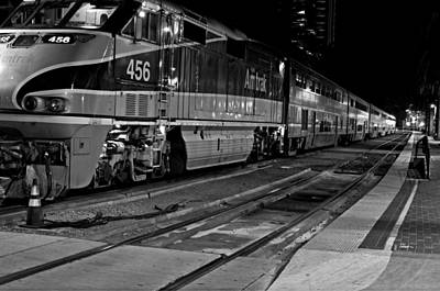Pacific Surfliner Poster by See My  Photos