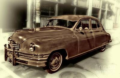 Packard Clipper Vintage Automobile Poster by Henry Kowalski