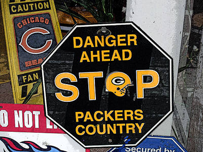 Packers Country Poster by Kay Novy