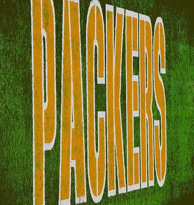 Packers Poster by Deena Stoddard