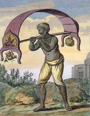 Paeni Caori , From Voyage Aux Indes Et Poster by Pierre Sonnerat