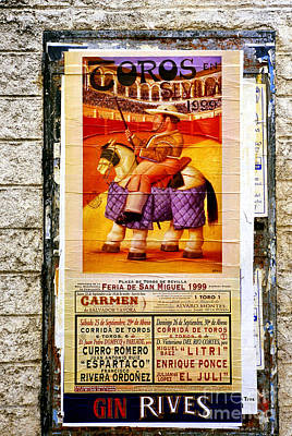 Pageant Of The Bulls Poster