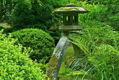 Pagoda, Summer, Portland Japanese Poster by Michel Hersen