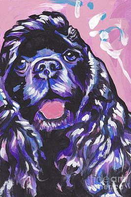 Paint It Black Poster by Lea S