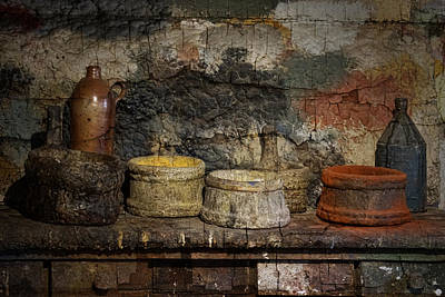 Paint Pots Poster by Inge Riis McDonald