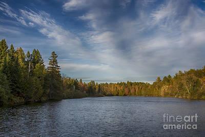 Paint River - Autumn Poster