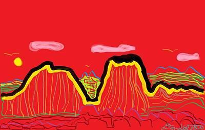 Painted Desert #2 Poster