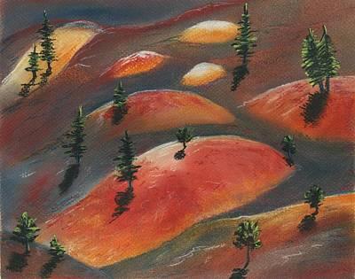 Painted Dunes Poster by Anastasiya Malakhova