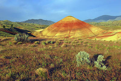 Painted Hills, John Day Fossil Beds Poster by Michel Hersen