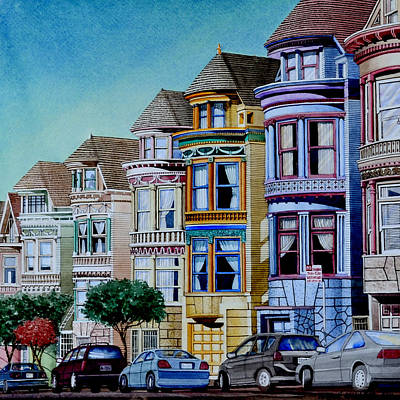 Painted Ladies Poster