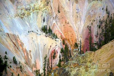 Painter's Point Yellowstone  Poster by Terry Horstman