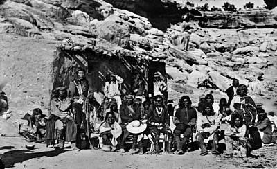 Paiute Native Americans Poster