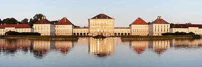 Palace At The Waterfront, Nymphenburg Poster by Panoramic Images