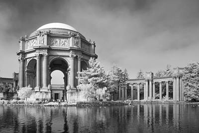 Palace Of Fine Arts Poster by Bill Gallagher